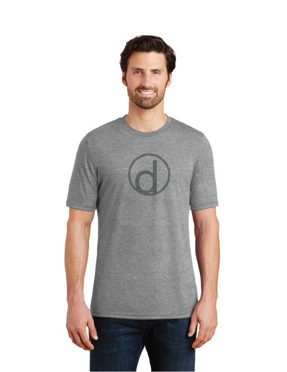 Men's District Tri-Blend T-Shirt (Badge Logo)