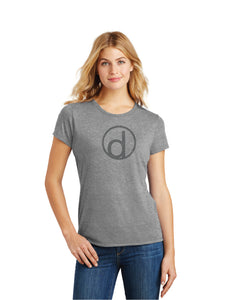 Ladies District Tri-Blend T-Shirt (Badge Logo)