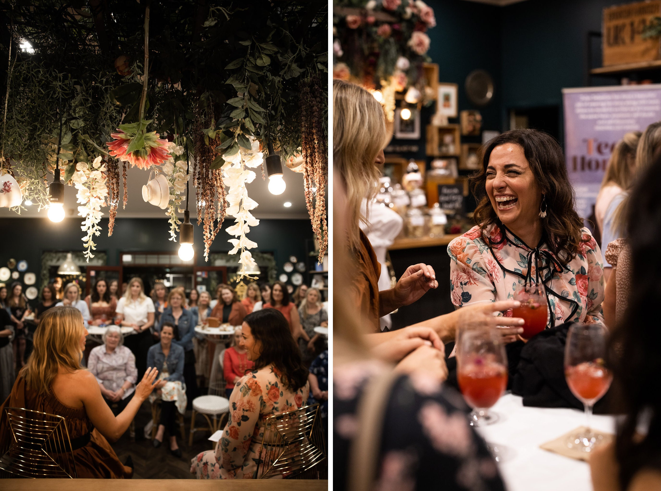 TEA, COCKTAILS AND CONVERSATIONS WITH JULES SEBASTIAN