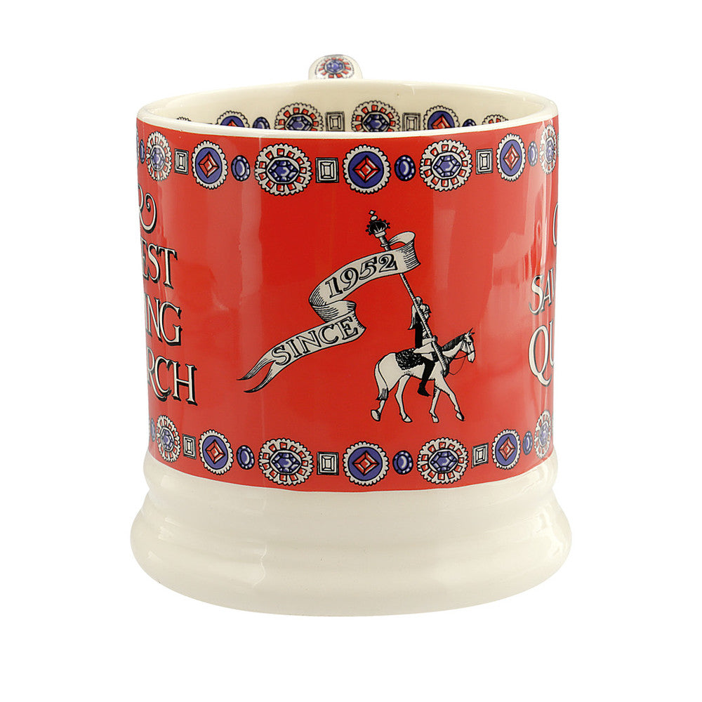 God Save the Queen 1/2 Pint Mug