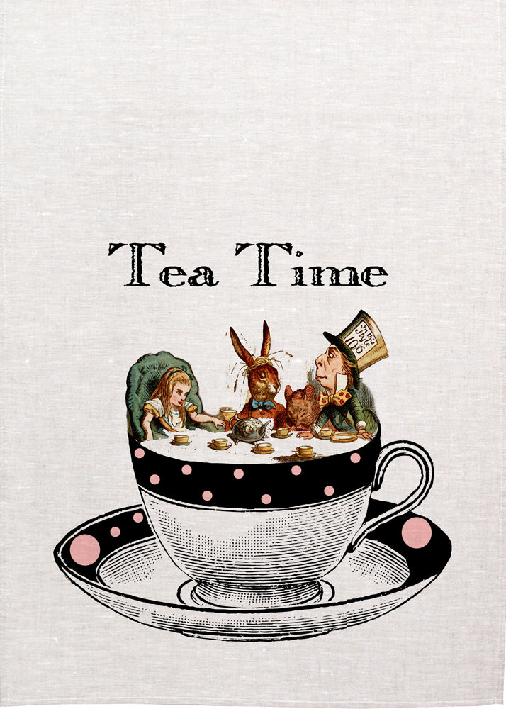 Alice Tea Towel - Tea Time