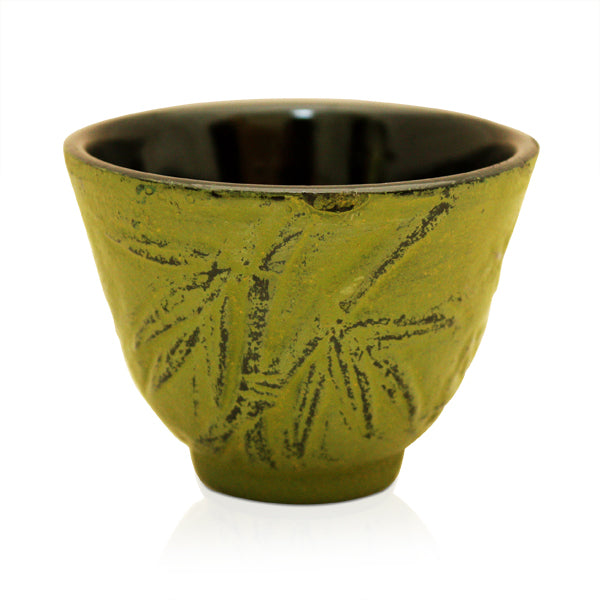 Bamboo Green Iron Cup