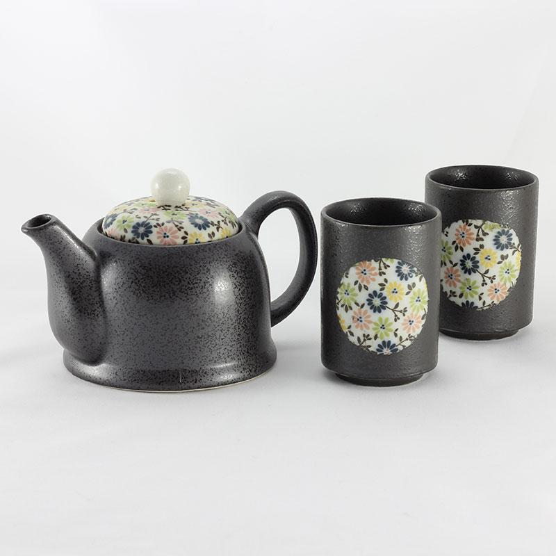 Blue Komon Tea Set