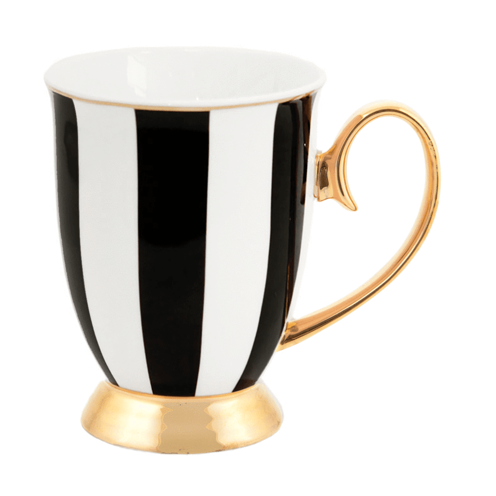 Ebony Stripe Mug