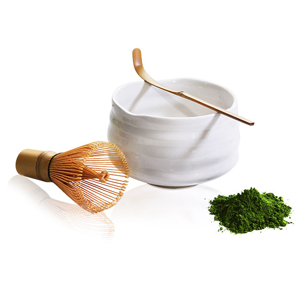 Michiko Matcha Bowl - White