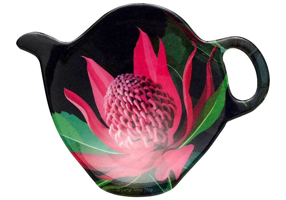Native Grace Waratah Tea Bag Holder