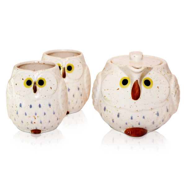 Lucky Owl Tea Set