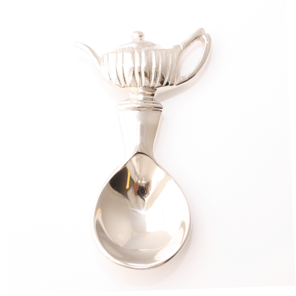 Silver Caddy Spoon - Royal Teapot