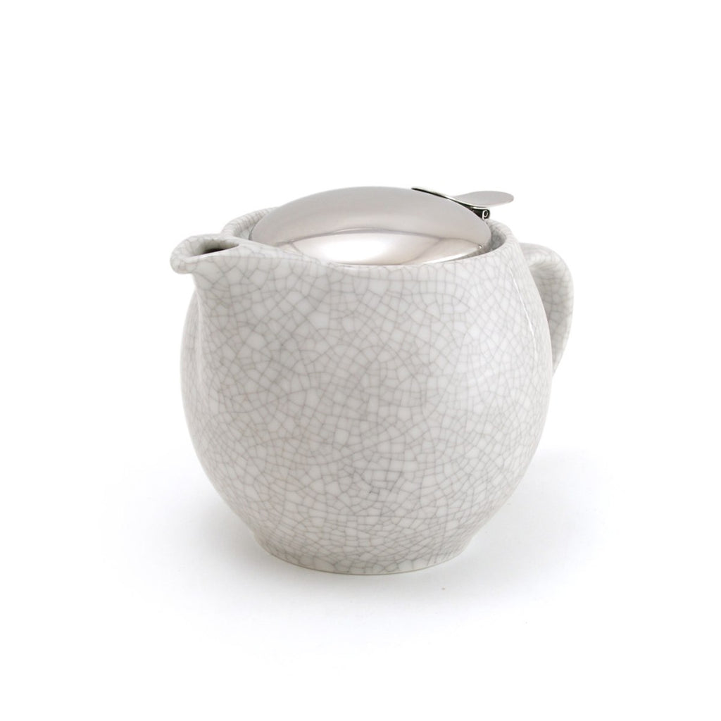 Zero Japan Teapot - Crackle White