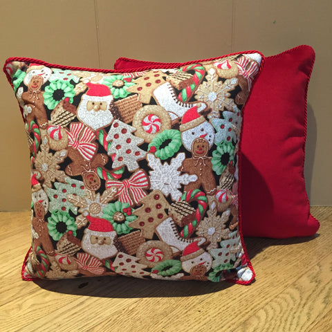 HOLIDAY THEMED ACCENT PILLOWS
