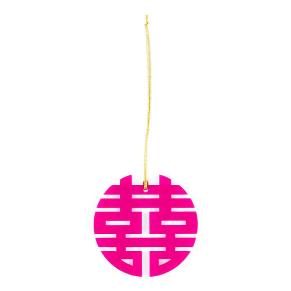 Double Happiness Hanging Decoration - beChicLiving