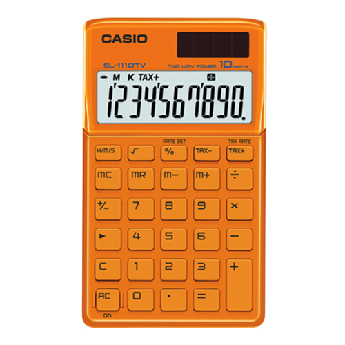 Casio Portable Calculator SL-1110TV - beChicLiving