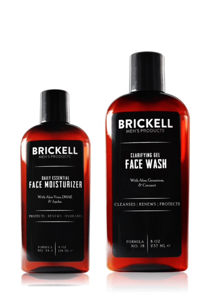 Men's Daily Essential Face Care Routine I (Scented)