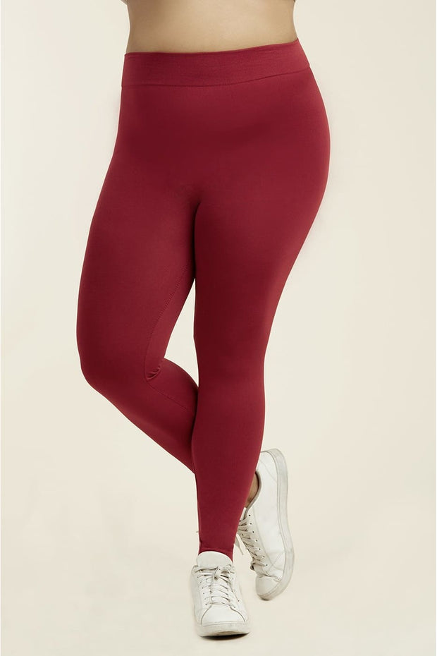 Womens High Waisted Fleece Lined Legging