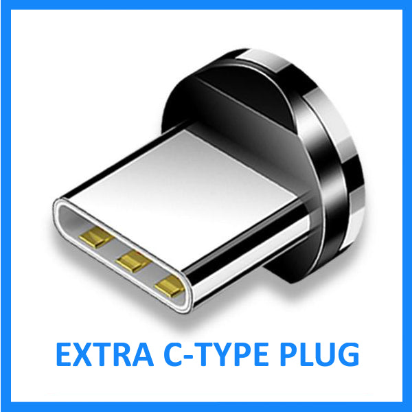 C-Type Port Plug (for Magnetic Charging Cable)