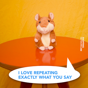 Plush Talking Hamster and Recorder - Child's Toy - case-o-rama.com