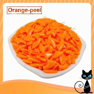 Newest color  20pcs/lot Pet cat Nail Soft Claws Nail Cap Paw Caps Pet Nail Cover  with free Adhesive Glue+ Applicator - case-o-rama.com