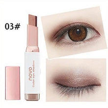 Load image into Gallery viewer, Double Color Eyeshadow Stick Stereo Gradien Shimmer Color Eye Shadow Cream Pen Eye Makeup Palette Cosmetics - case-o-rama.com