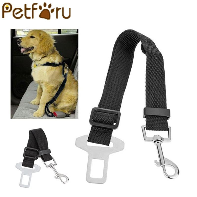 Petforu 1pcs Adjustable Dog Car Safety Seat Belt Pets Dogs Seatbelt Cat Carriers Leads Belts Pet Accessories - case-o-rama.com