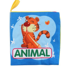 Load image into Gallery viewer, Animal Style Monkey/Owl/Dog Newborn Baby Toys Learning Educational Kids Cloth Books Cute Infant Baby Fabric Book Ratteles Toy - case-o-rama.com