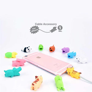 Cable Chompers for iPhones & Androids - Animal Kingdom Series - case-o-rama.com