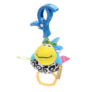 Baby Kids Rattles Toys Cotton Stroller Pram Crib Hanging Soft Plush Toys Animal Clip Baby Crib Bed Hanging Bells Toys For Babies - case-o-rama.com
