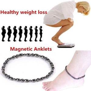 New Weight Loss Magnet Anklet Colorful Stone Magnetic Therapy Bracelet Anklet Weight Loss Product Slimming Health Care jewelry - case-o-rama.com