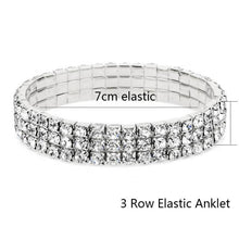 Load image into Gallery viewer, Elastic Anklet Stretch Anklets Women Boho Crystal Bracelet Cheville Barefoot Sandals Pulseras Tobilleras Mujer Foot Jewelry 2018 - case-o-rama.com