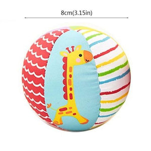 Baby Toys For Children Animal Ball Soft Plush Toys With Sound Baby Rattles Infant Babies Body Building Ball For 0-12 Months - case-o-rama.com