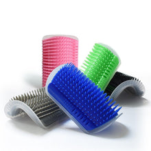 Load image into Gallery viewer, Pet Cat Self Groomer With Catnip Grooming Tool Hair Removal Brush Comb For Cats Hair Shedding Trimming Dog Cat Massage Device - case-o-rama.com
