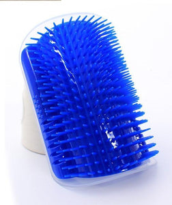 Pet Cat Self Groomer With Catnip Grooming Tool Hair Removal Brush Comb For Cats Hair Shedding Trimming Dog Cat Massage Device - case-o-rama.com