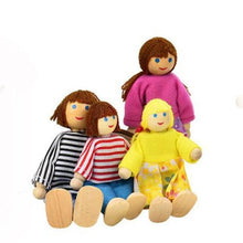 Load image into Gallery viewer, 7 People Family Set Soft Toys For Kids - case-o-rama.com