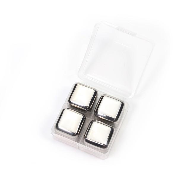 Reusable Stainless Steel Ice Cubes - case-o-rama.com