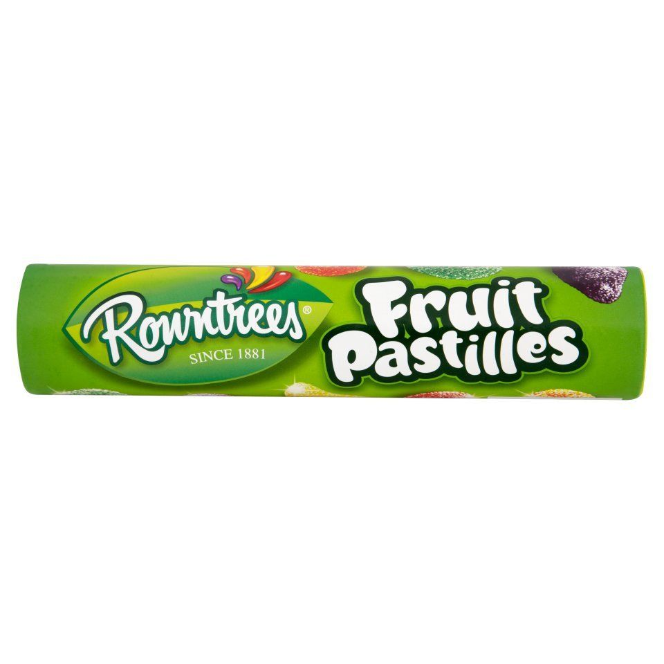 Rowntree Fruit Pastilles 52.5g (pack of 12)