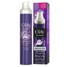 Load image into Gallery viewer, Olay Anti Wrinkle 2in1 Firm & Lift Day Cream + Serum 50ml (3 pack)