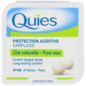 Quies wax ear plugs 8 Pack x3 (24 total)
