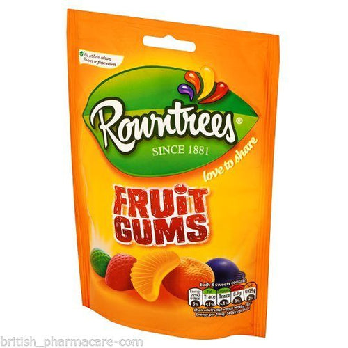 Rowntrees Fruit Gums Sweets Bag 150g