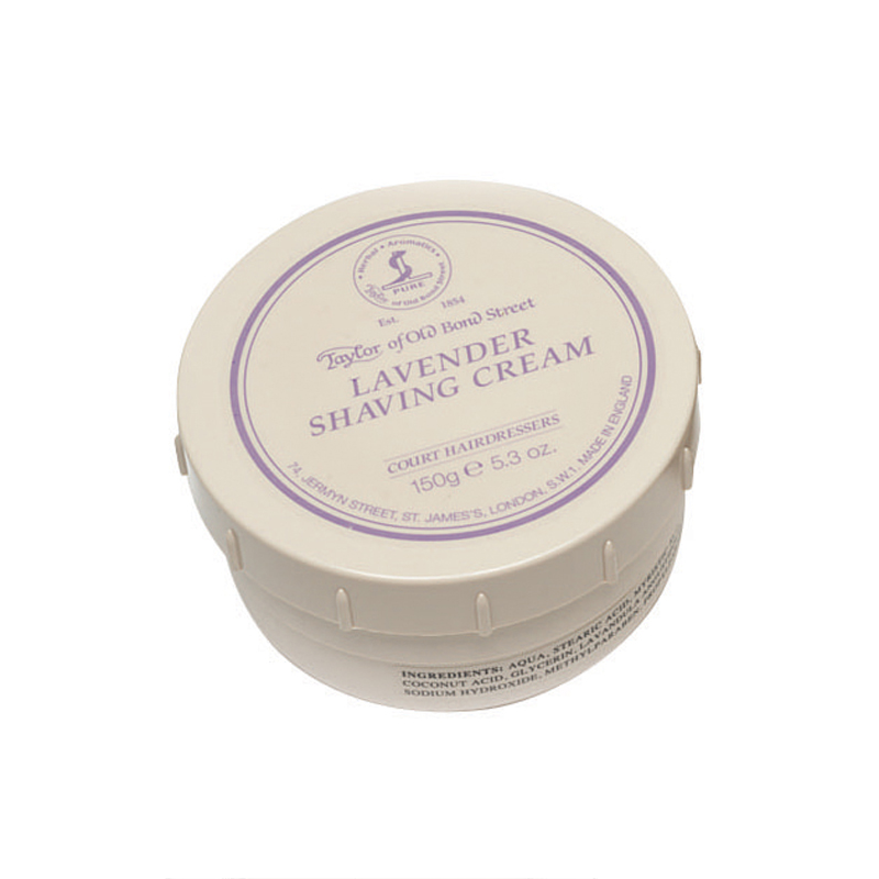 Taylor of Old Bond Street Lavender Luxury Shaving Cream - 150 g