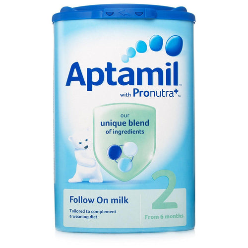 Aptamil 2 Follow On Milk 6month+ Formula Powder 900g