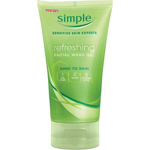 Simple Refreshing Facial Wash Gel 150ml