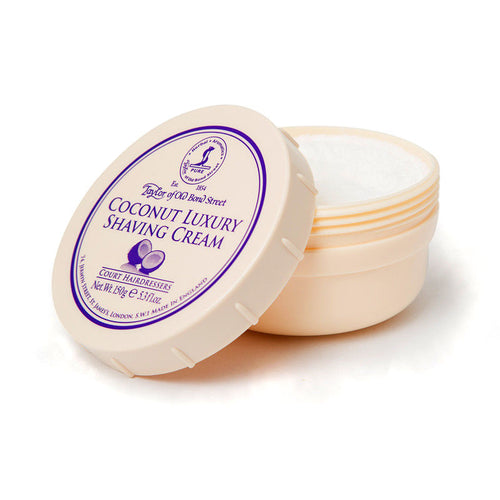 Taylor of Old Bond Street Coconut Luxury Shaving Cream - 150 g