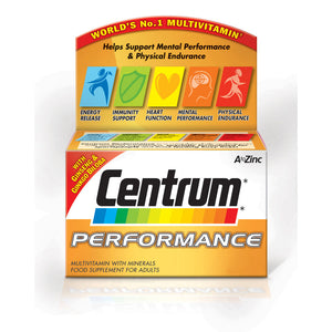 Centrum Performance 60 tablets