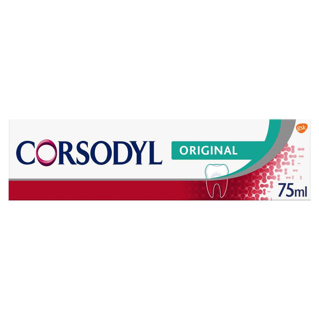 Corsodyl Daily Gum Care Original Toothpaste 75ml