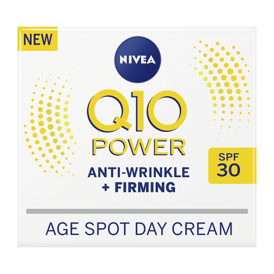 NIVEA Q10 POWER ANTI-WRINKLE + FIRMING AGE SPOT DAY CREAM with SPF30 - 50ml