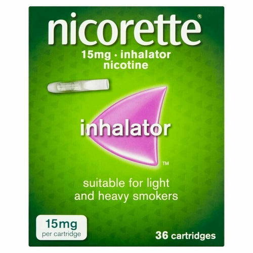 Nicorette Inhalator 15mg 36 Cartridges