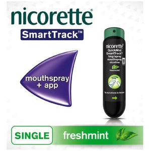 Nicorette Quickmist SmartTrack Mouth Spray Single Pack 1mg