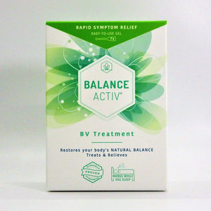 Balance active RX vaginal gel 7 single use tubes