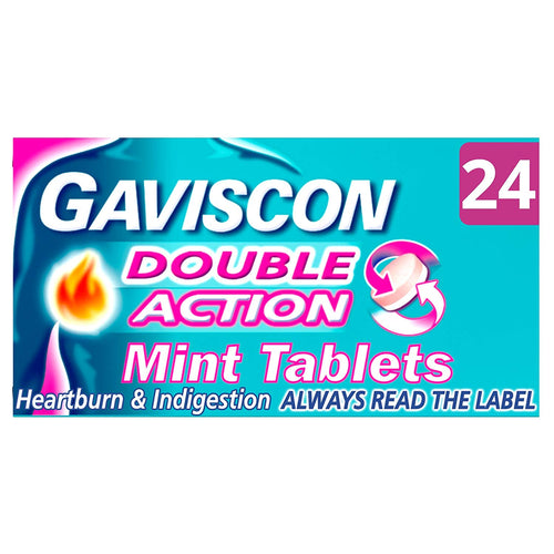 Gaviscon Double Action Tablets 24s