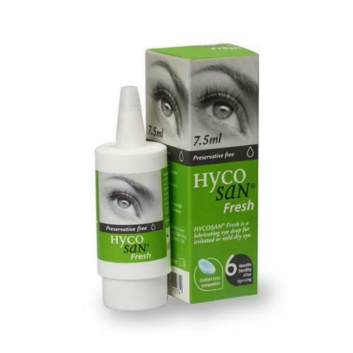 Hycosan Fresh Preservative Free Eye Drops - 7.5ml