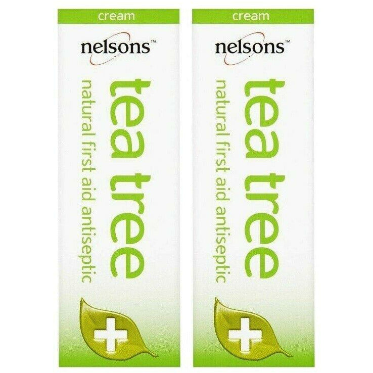 Nelsons Tea Tree Cream 30ml x 2